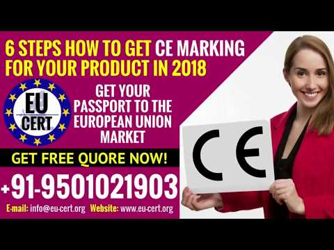 6 Steps: How To Get CE Marking For Your Product?