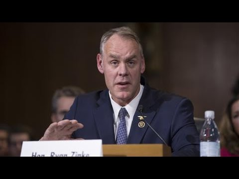 Zinke: 'Climate Change Is Not a Hoax'