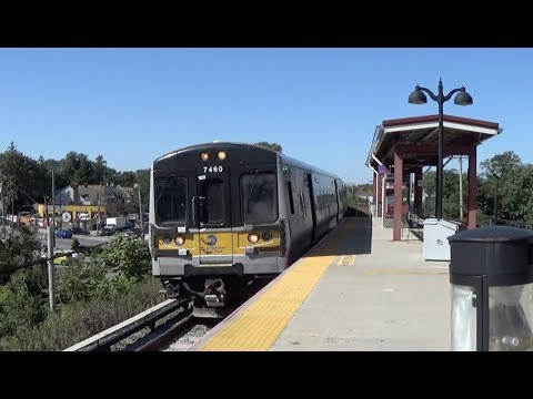 LIRR St. Albans - Express Trains Pass in Both Directions