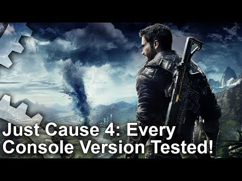 [4K] Just Cause 4 Analysis: Every Console Tested: Xbox One X vs PS4 Pro, PS4 vs Xbox One thumbnail