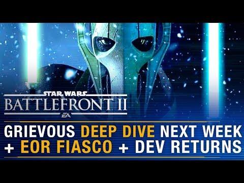 Grievous Deep Dive + End Of Round Matchmaking Fiasco + Dev Returns  | Battlefront Update