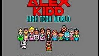 Master System - Alex Kidd in High-Tech World (1987)