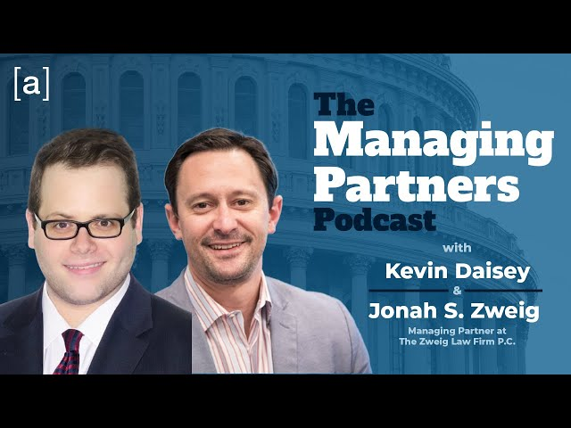 Jonah Zweig - The Managing Partners Podcast