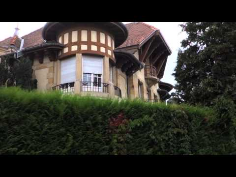 Nancy Art Nouveau house tour