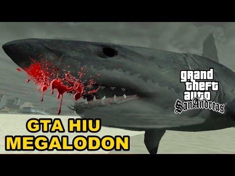 GTA HIU MEGALODON Mod Indonesia! - YouTube