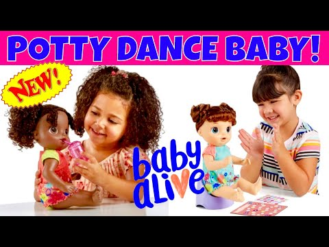 Awesome News New Baby Alive Doll That Talks Drinks And