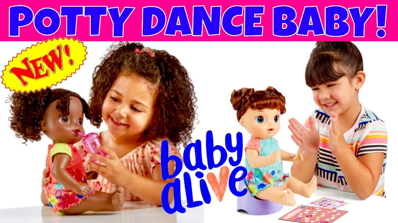 Awesome News New Baby Alive Potty Dance Baby Doll She
