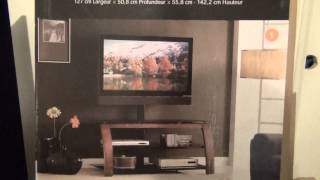 "Whalen 50"" 3-in-1 Tv Console Ctxl50-1dw Unboxing-my New One"