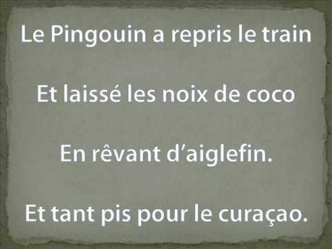 le pingouin du pôle nord