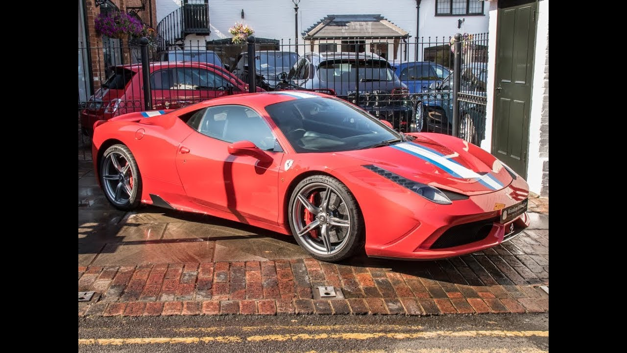Ferrari 458 Speciale For Sale Bramley Motor Cars