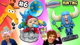 Skylanders SuperChargers Hunting Pt. 6: Shawn's First Time Hunt & GEOFFREY STOLE OUR CAR KEYS ッ