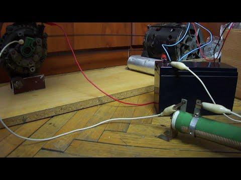 How to get 120V or 240V from a car alternator