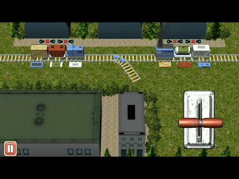 Train Shunting Puzzle (Level 25 To 28) Walkthrough #4 All Level Complete