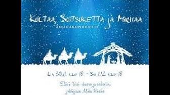 Elävä vesi - kuoro Joulukonsertti 30.11.2019
