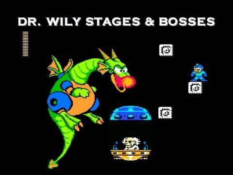DR. WILY STAGES / BOSSES - Mega Man 2 Interactive Walkthrough
