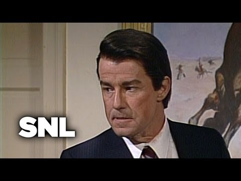 President Reagan Mastermind - Saturday Night Live