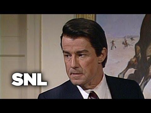 President Reagan, Mastermind  SNL