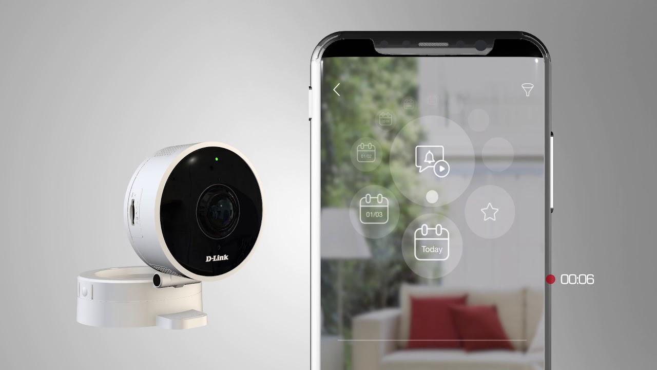 HD 180-Degree Wi-Fi Camera