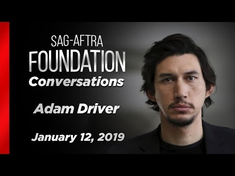 Conversations with Adam Driver