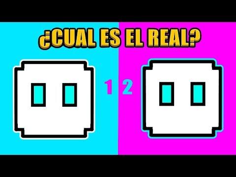 ¿CUAL ES EL REAL? (Nivel Difícil) || En Geometry Dash