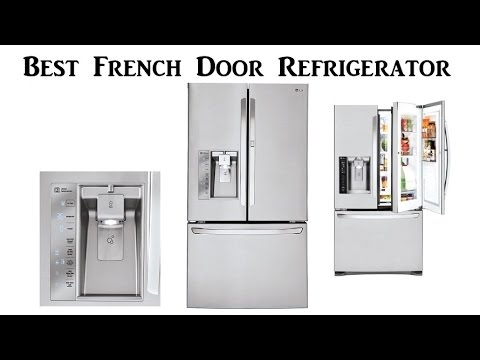 Best French Door Refrigerator | LG LFXS30766S Energy Star French Door  Refrigerator