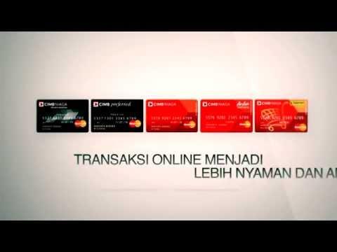 CIMB Niaga 3D Secure Debit Card