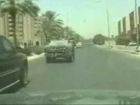 US army/ an attack by IED in baghdad