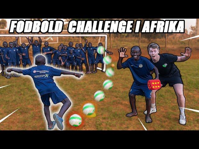 FODBOLD CHALLENGE I AFRIKA