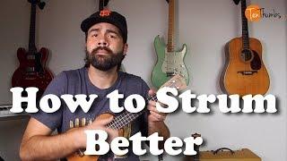 How To Strum The Ukulele Better - How to Count Music - Ukulele Tutorial