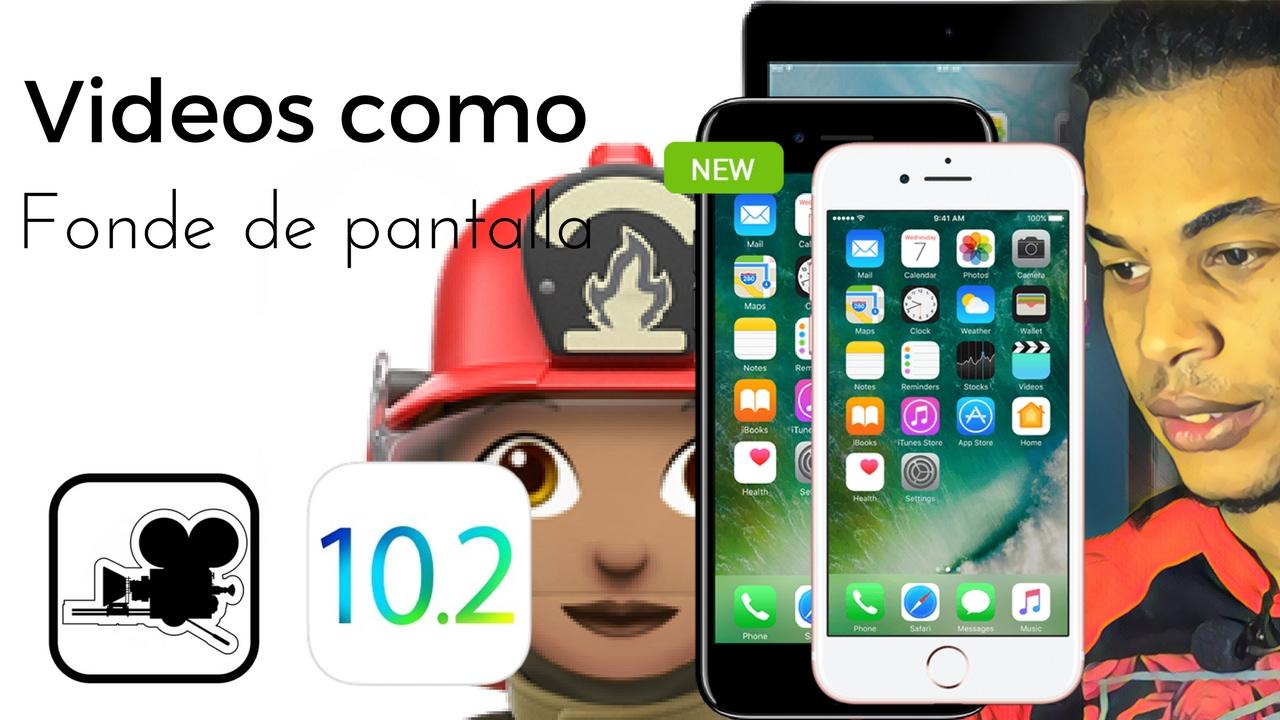 8e28de2eb1a Como Poner Videos Como Fondo De Pantalla, iOS 10, 10 2, iPhone, iPad, &  iPod Touch - YouTube