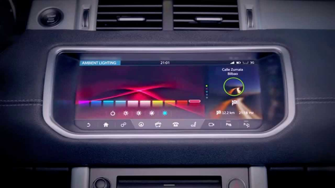 New 2016 Range Rover Evoque Convertible Incontrol Touch Pro Infotainment You
