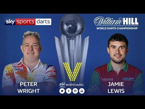 2018 World Darts Championship Round 2 Wright vs J.Lewis