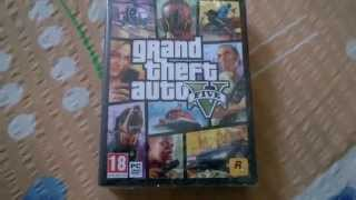 Grand Theft Auto V PC Unboxing