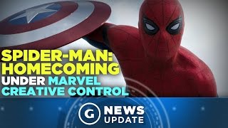New Spider-Man Movie Is Under Marvel's Creative Control, Not Sony's - GS News Update