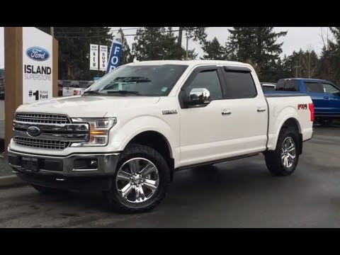 2018 Ford F-150 Leveled Lariat FX4 Sport V8 SuperCrew Review| Island Ford
