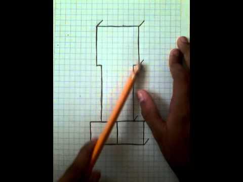 Como Dibujar Un Creeper De Minecraft Youtube