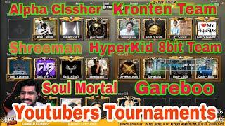 Soul Mortal Vs Kronten Vs Alpha clasher Vs Shreeman Legend Vs Gareeboo,All Youtubers Tournament R1