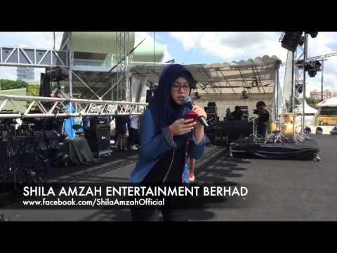 shila amzah -all of me cover(rehearsal version)