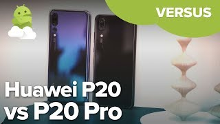 Huawei P20 vs P20 Pro: Is the Pro worth the extra cash?