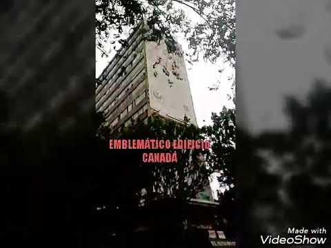 Sismo de septiembre del 2017. Emblemático edificio Canadá. Insurgentes 300.
