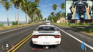 Mazda RX-7 - The Crew 2 | Logitech g29 gameplay