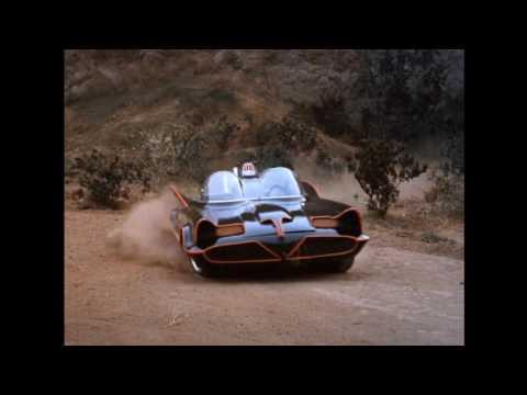The Batmobile Exits The Batcave!