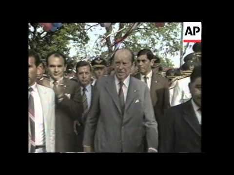 Former Paraguayan dictator Stroessner dies after long exile in Brazil