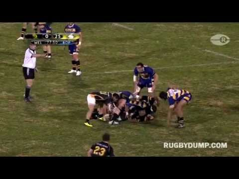 Bay of Plenty length of the field try vs Wellington