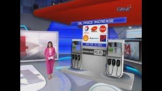 24 Oras: Presyo ng gasolina sa ilang kumpanya ng langis, magmamahal ng P0.30/L