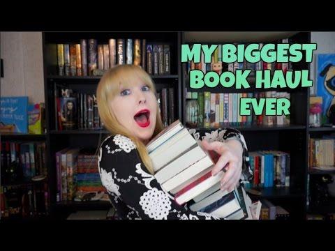 MY BIGGEST BOOK HAUL EVER (40 BOOKS)