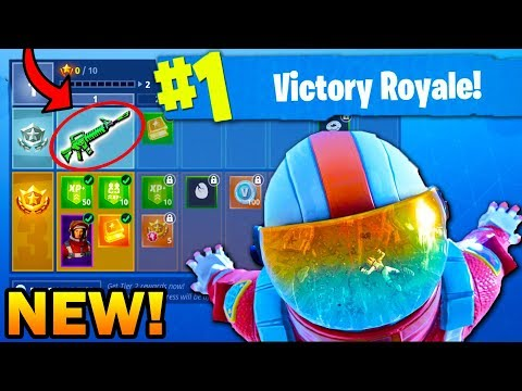 FORTNITE SEASON 3 UNLOCKING ENTIRE BATTLE PASS REACTION! (Fortnite Battle Royale GRIND Stream)