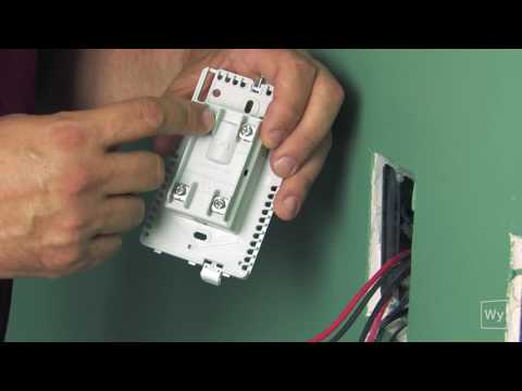 Wiring an nSpiration Series floor heating thermostat to an electric floor heating roll