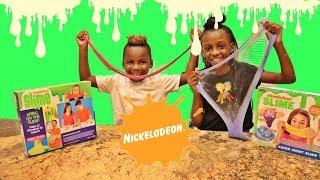 Testing Nickelodeon Super Slime Kit! DIY Slime Factory! Is it Worth it?