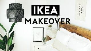 THE ULTIMATE BEDROOM MAKEOVER IKEA HACKS 2019  Nastazsa